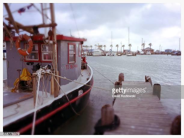 Fishing Boat Rockport Texas Gulf Coast