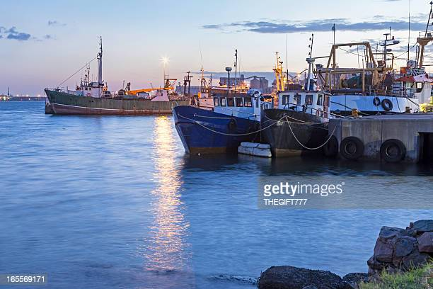 Fishing Boats at Durban harbour