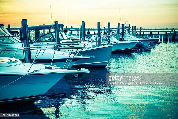 Long island stock photos and pictures getty images for Fishing boats long island