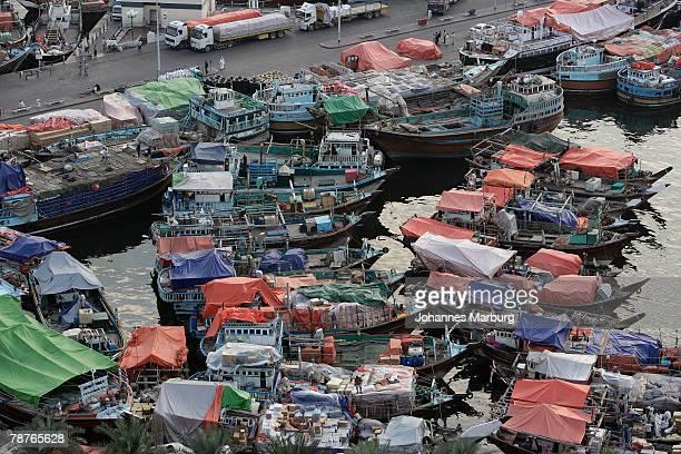 Fishing boats, Dubai, United Arab Emirates