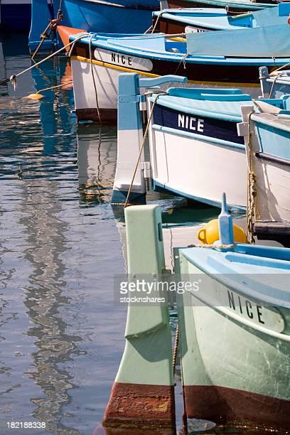 Bateaux de pêche à Nice