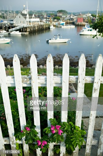 Fishing boats in pigeon cove cape ann gloucester stock for Ma fishing license cost