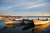 Fishing boats in Santa Rosalia, Mexico