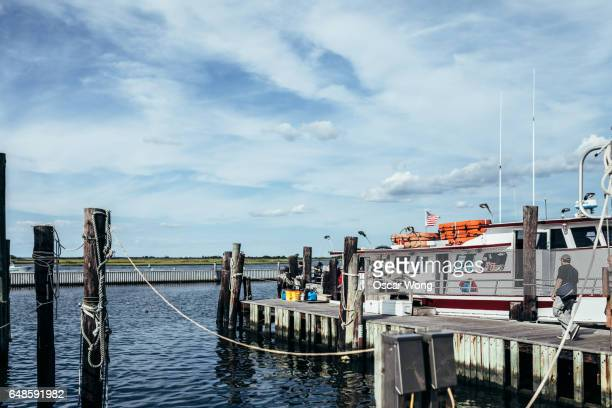 Harbour station stock photos and pictures getty images for Fishing in new york city
