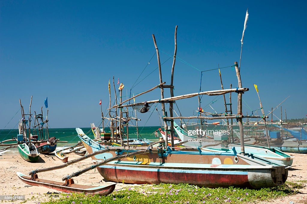 Fishing boats : Stock Photo