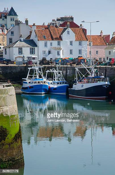 Fishing boats, Pittenweem Harbour, Fife, Scotland