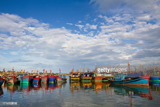 Fishing boats, Vietnam, Dong Hoi.
