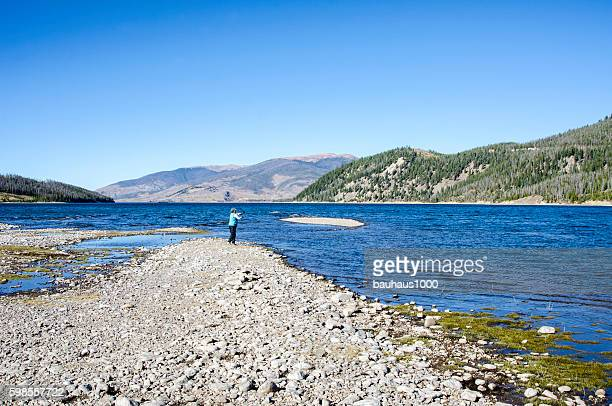 Fishing by the Shore of Lake Dillon