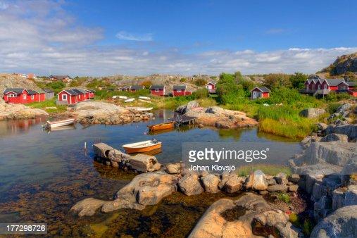 Fishing cove in Gothenburg archipelago