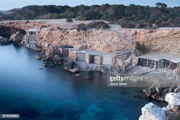 Fishing houses Cala Comte, Ibiza