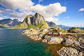 Hamnoy fishing village, Reine, Lofoten Islands, Norway