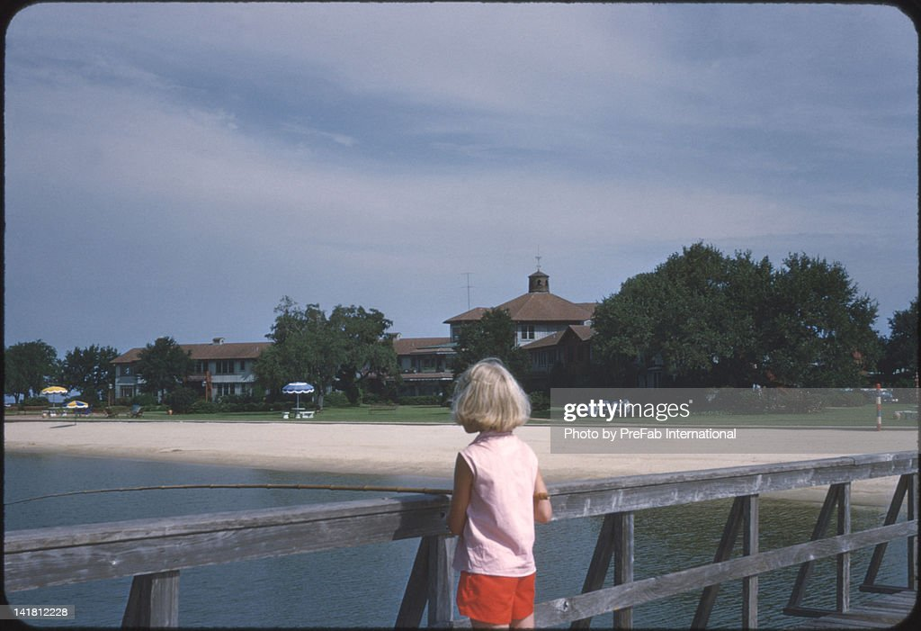 Fishing in Gulf : Stock Photo