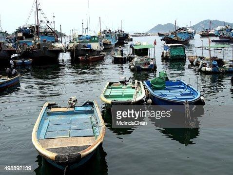 Fishing life in CheungChau Island, Hong Kong
