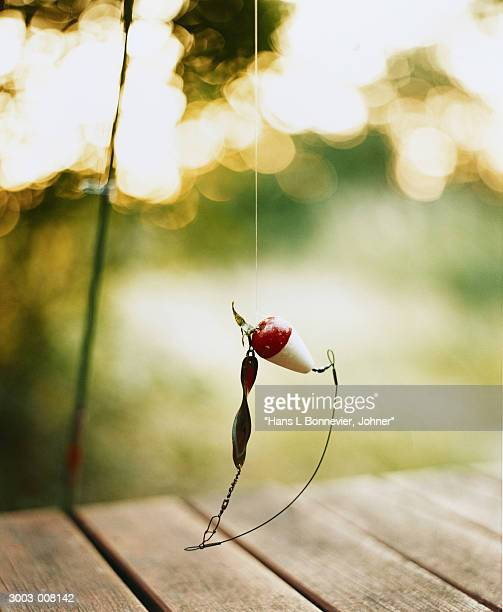 Fishing Lure over Table