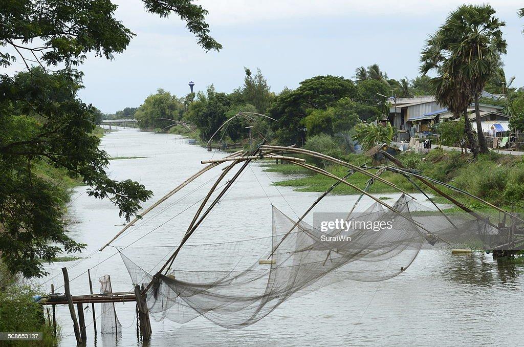 Fishing net : Stock Photo