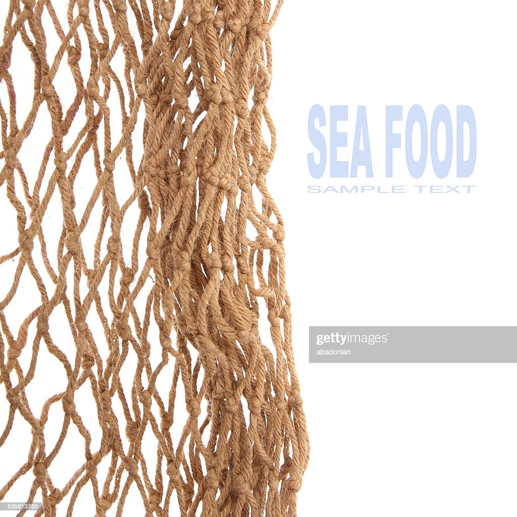 Rede de pesca. : Foto de stock