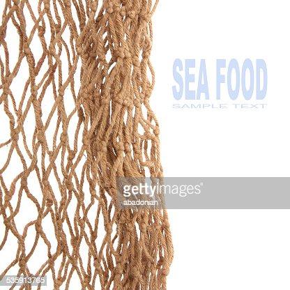 Fishing net. : Stock Photo