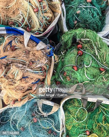 Fishing nets for sale stock photo getty images for Fishing net for sale