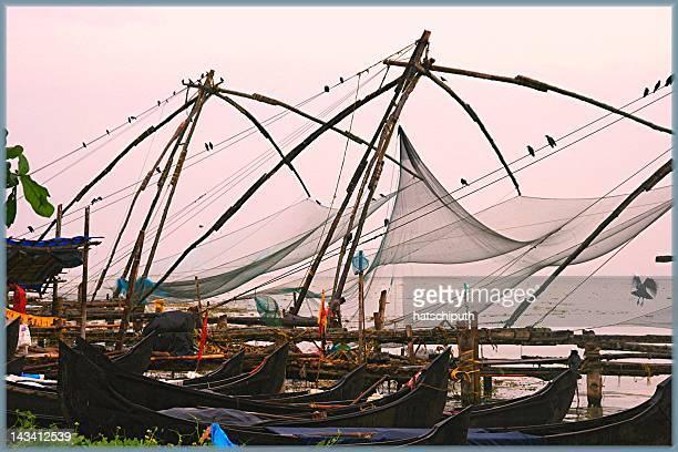 Fishing nets meets gondola