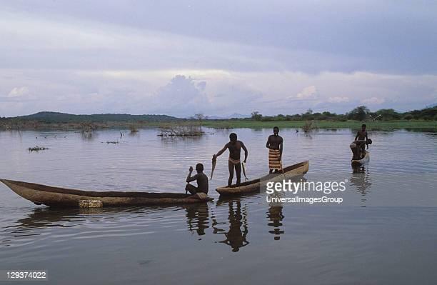 Fishing On Reservoir Tanzania