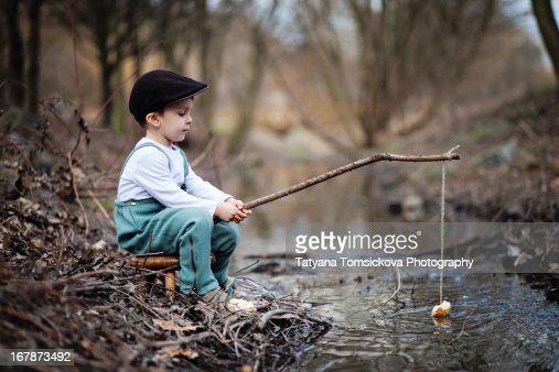 Fishing string stock photos and pictures getty images for Ornamental pond fish port allen