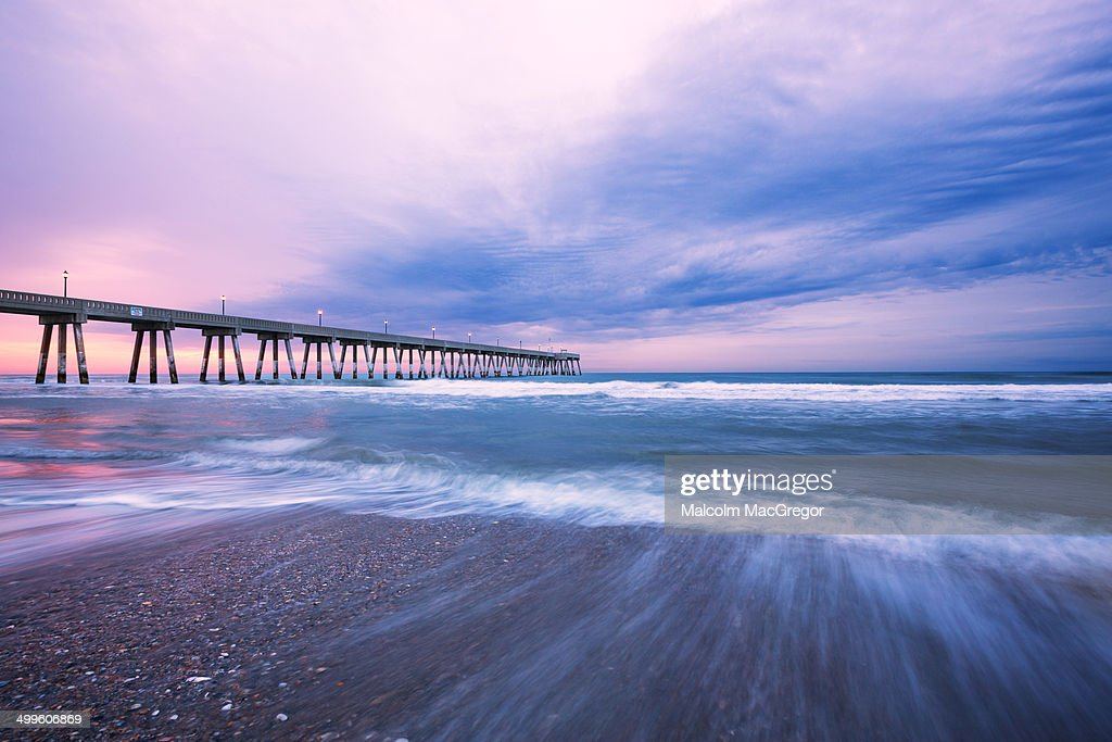 Fishing Pier at Sunrise