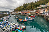 Fishing port of San Sebastian,Spain