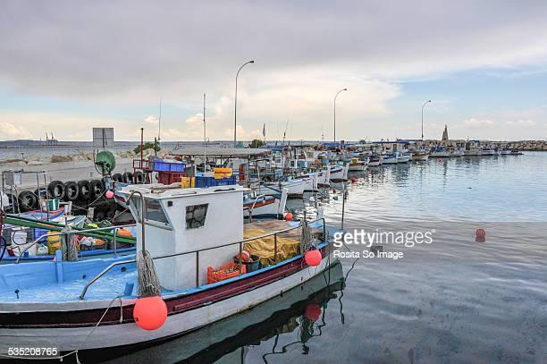 Fishing Port Psarolimano Larnaca