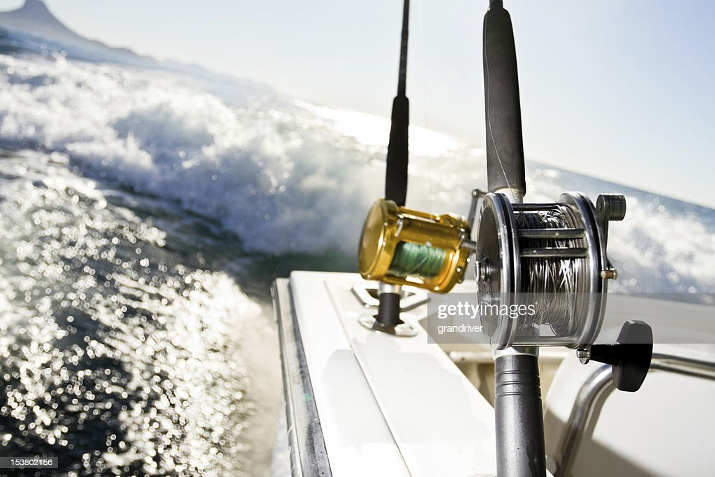 Fishing Reel : Stock Photo