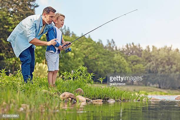La pêche est une affaire de famille