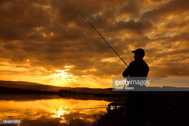 fishing silhouette