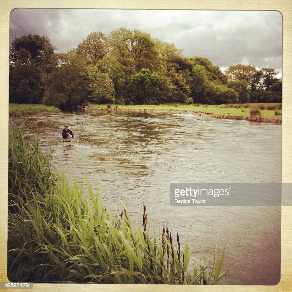 Fishing the River Avon