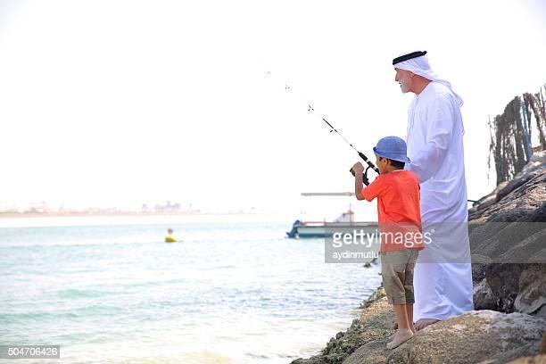 Fishing togethe