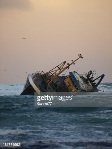 Fishing Vessel Aground