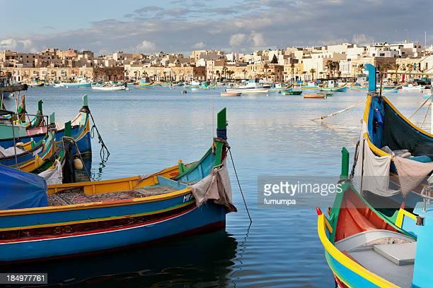 fishing village, Malta