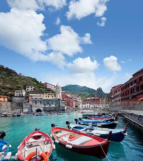 Nel villaggio di Vernazza Cinque Terre, Italia