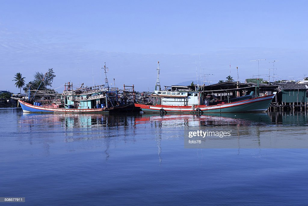 Fishing village : Stock Photo
