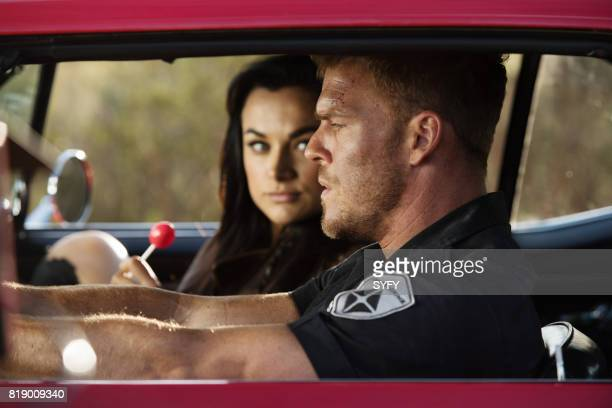 DRIVE 'A Fistful of Blood' Episode 108 Pictured Christina Ochoa as Grace Alan Ritchson as Arthur