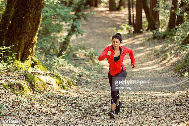 Fit Woman Trail Runner