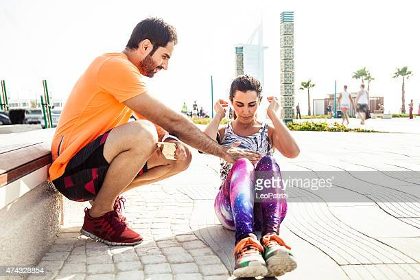 Fitness and exercising in Dubai - Sporty People