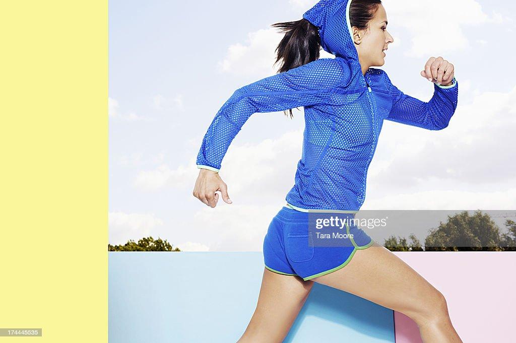 fitness athlete running