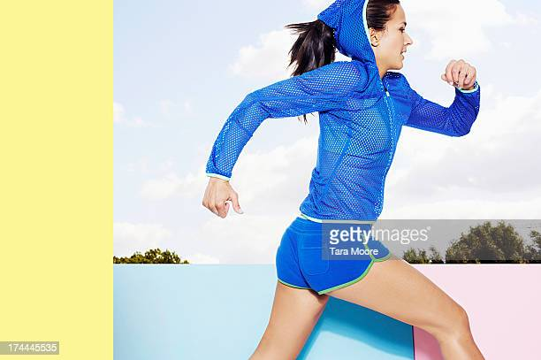 fitness athlete running
