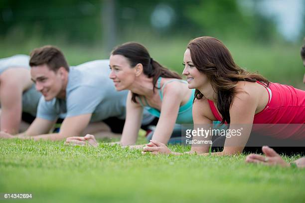 Fitness Class at the Park