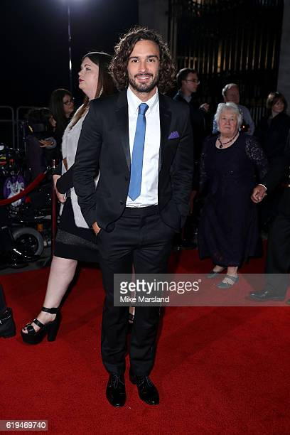 Fitness coach Joe Wicks attends the Pride Of Britain Awards at The Grosvenor House Hotel on October 31 2016 in London England