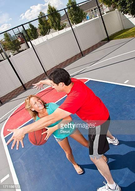 Fitness Court Basket Ball