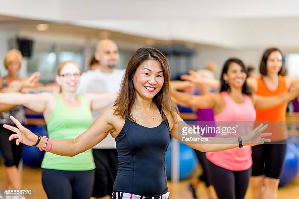 Aula de dança Fitness