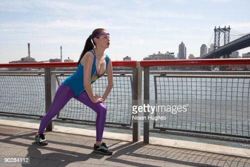 Fitness Girl : Stock Photo