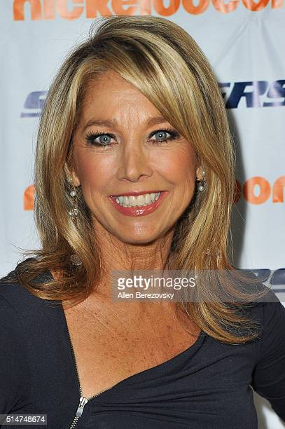 Fitness guru Denise Austin attends the 7th Annual SKECHERS Pier to Pier Walk Check Presentation at Shade Hotel on March 10 2016 in Manhattan Beach...
