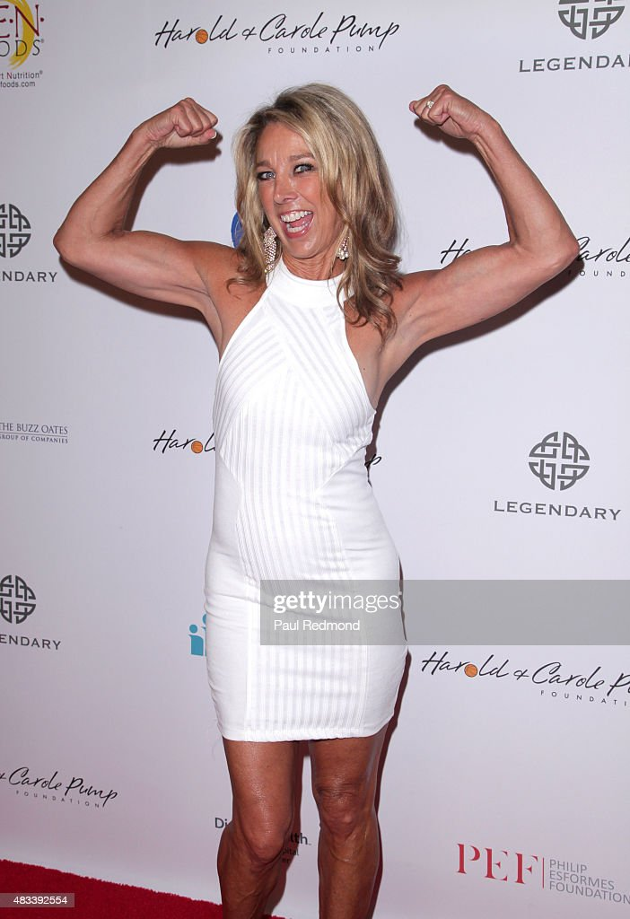 Fitness instructor <a gi-track='captionPersonalityLinkClicked' href=/galleries/search?phrase=Denise+Austin&family=editorial&specificpeople=956724 ng-click='$event.stopPropagation()'>Denise Austin</a> attends the 15th Annual Harold And Carole Pump Foundation Gala at the Hyatt Regency Century Plaza on August 7, 2015 in Los Angeles, California.