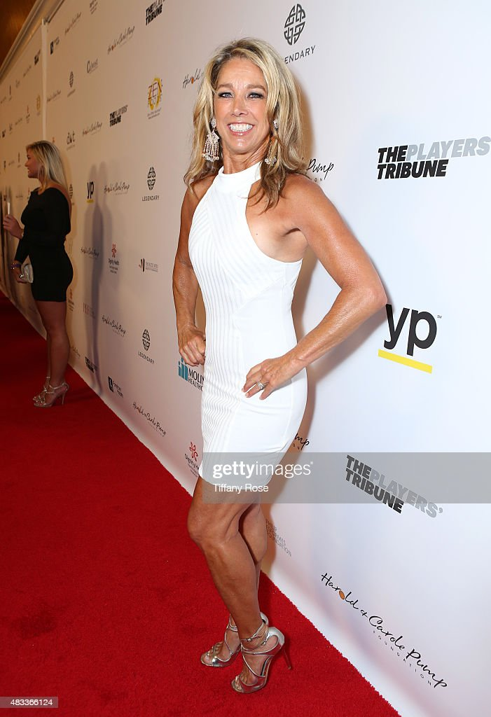 Fitness instructor <a gi-track='captionPersonalityLinkClicked' href=/galleries/search?phrase=Denise+Austin&family=editorial&specificpeople=956724 ng-click='$event.stopPropagation()'>Denise Austin</a> attends the 15th annual Harold & Carole Pump Foundation gala at the Hyatt Regency Century Plaza on August 7, 2015 in Century City, California.